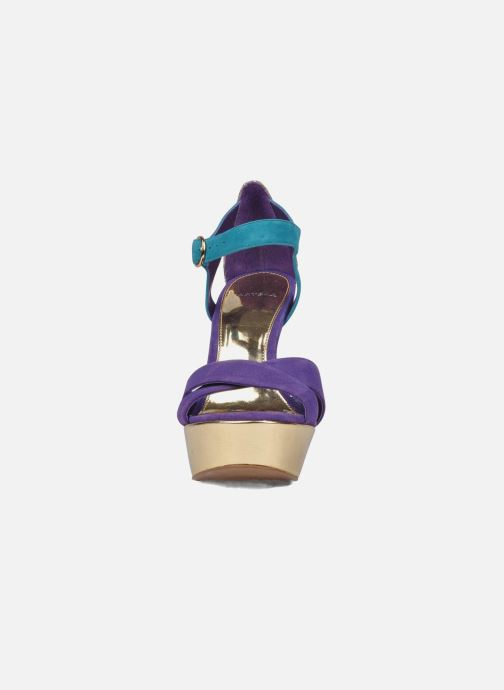 Sandals Carvela Gallant Bronze and Gold model view