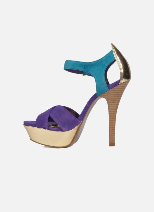 Sandales et nu-pieds Carvela Gallant Or et bronze vue face