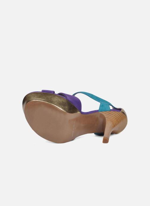 Sandales et nu-pieds Carvela Gallant Or et bronze vue haut