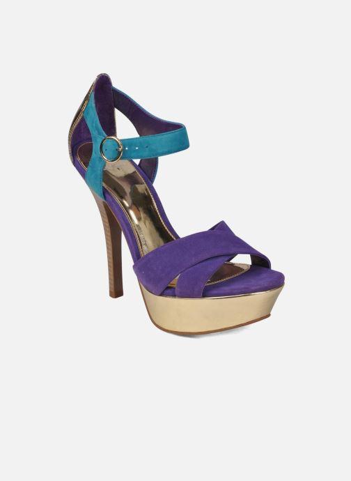 Sandales et nu-pieds Carvela Gallant Or et bronze vue détail/paire