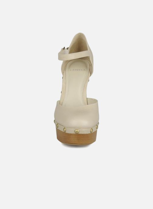 High heels Carvela Acorn Beige model view