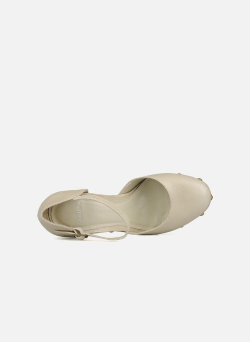 High heels Carvela Acorn Beige view from the left