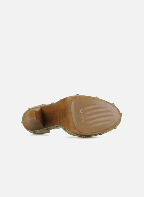 High heels Carvela Acorn Beige view from above