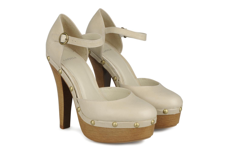 Zapatos de tacón Carvela Acorn Beige vista 3/4