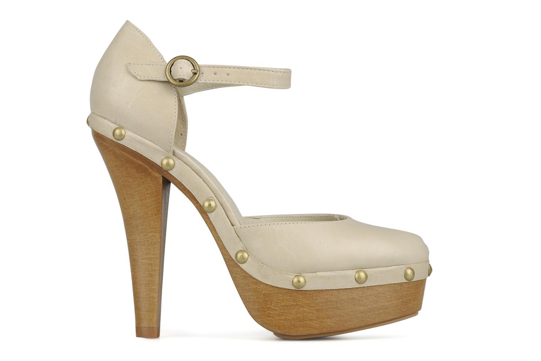 Zapatos de tacón Carvela Acorn Beige vistra trasera