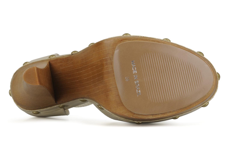 Zapatos de tacón Carvela Acorn Beige vista de arriba