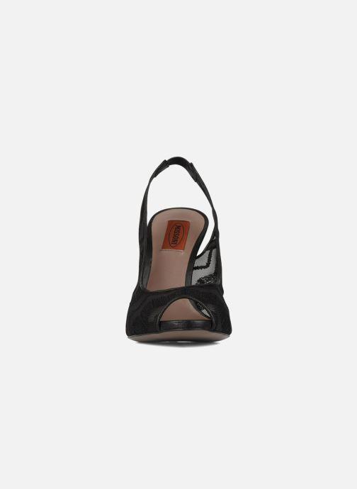 Escarpins Missoni Asella Noir vue portées chaussures