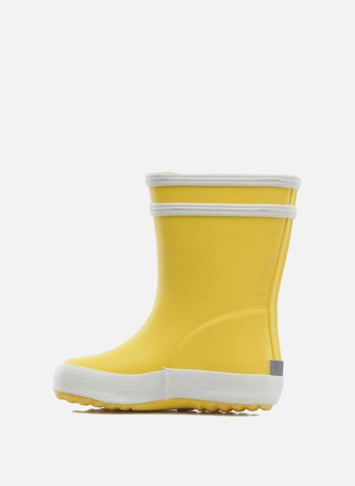 Boots & wellies Aigle Baby Flac Yellow front view