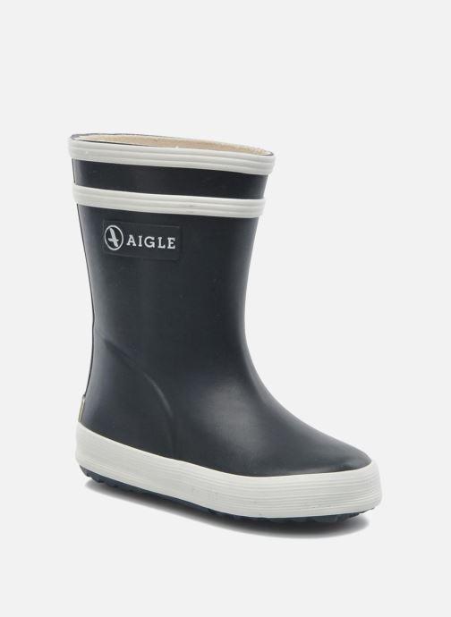 Støvler & gummistøvler Aigle Baby Flac Blå detaljeret billede af skoene