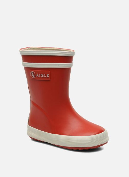 Stiefel Aigle Baby Flac rot detaillierte ansicht/modell