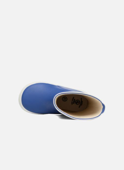 Stiefel Aigle Baby Flac blau ansicht von links