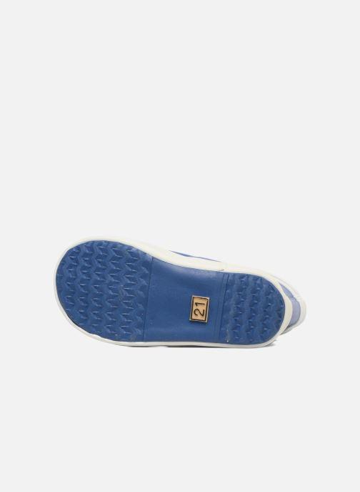 Stiefel Aigle Baby Flac blau ansicht von oben