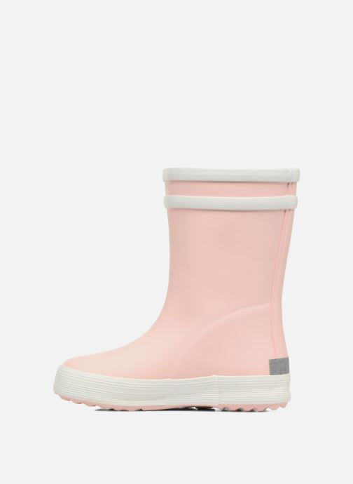 Bottes Aigle Baby Flac Rose vue face