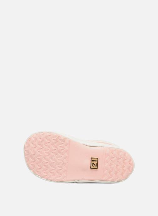 Stiefel Aigle Baby Flac rosa ansicht von oben