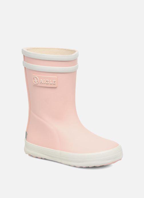 Stiefel Aigle Baby Flac rosa detaillierte ansicht/modell