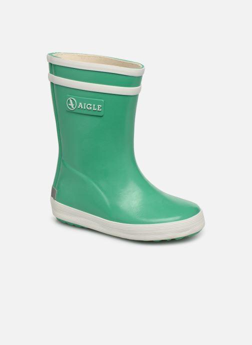 Støvler & gummistøvler Aigle Baby Flac Grøn detaljeret billede af skoene