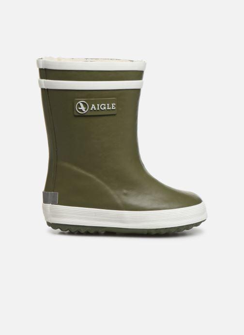 Støvler & gummistøvler Aigle Baby Flac Grøn se bagfra