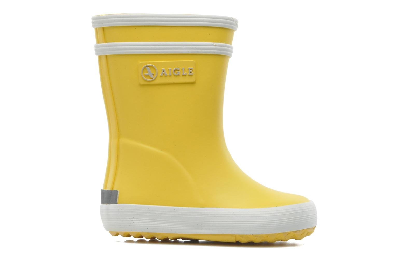 Boots & wellies Aigle Baby Flac Yellow back view