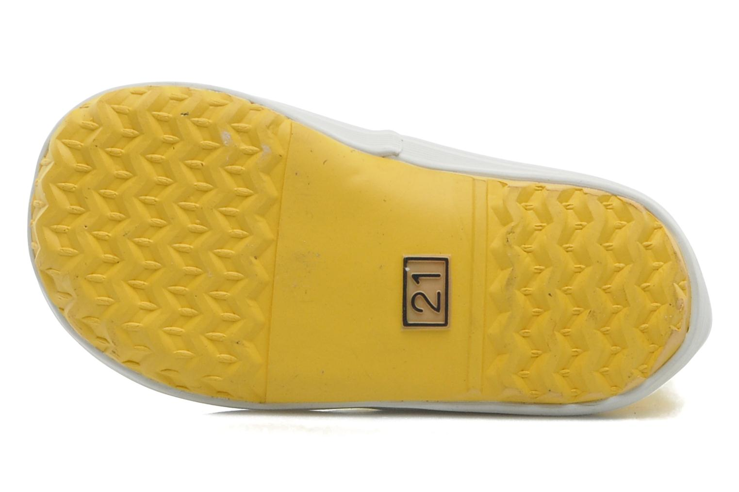 Boots & wellies Aigle Baby Flac Yellow view from above