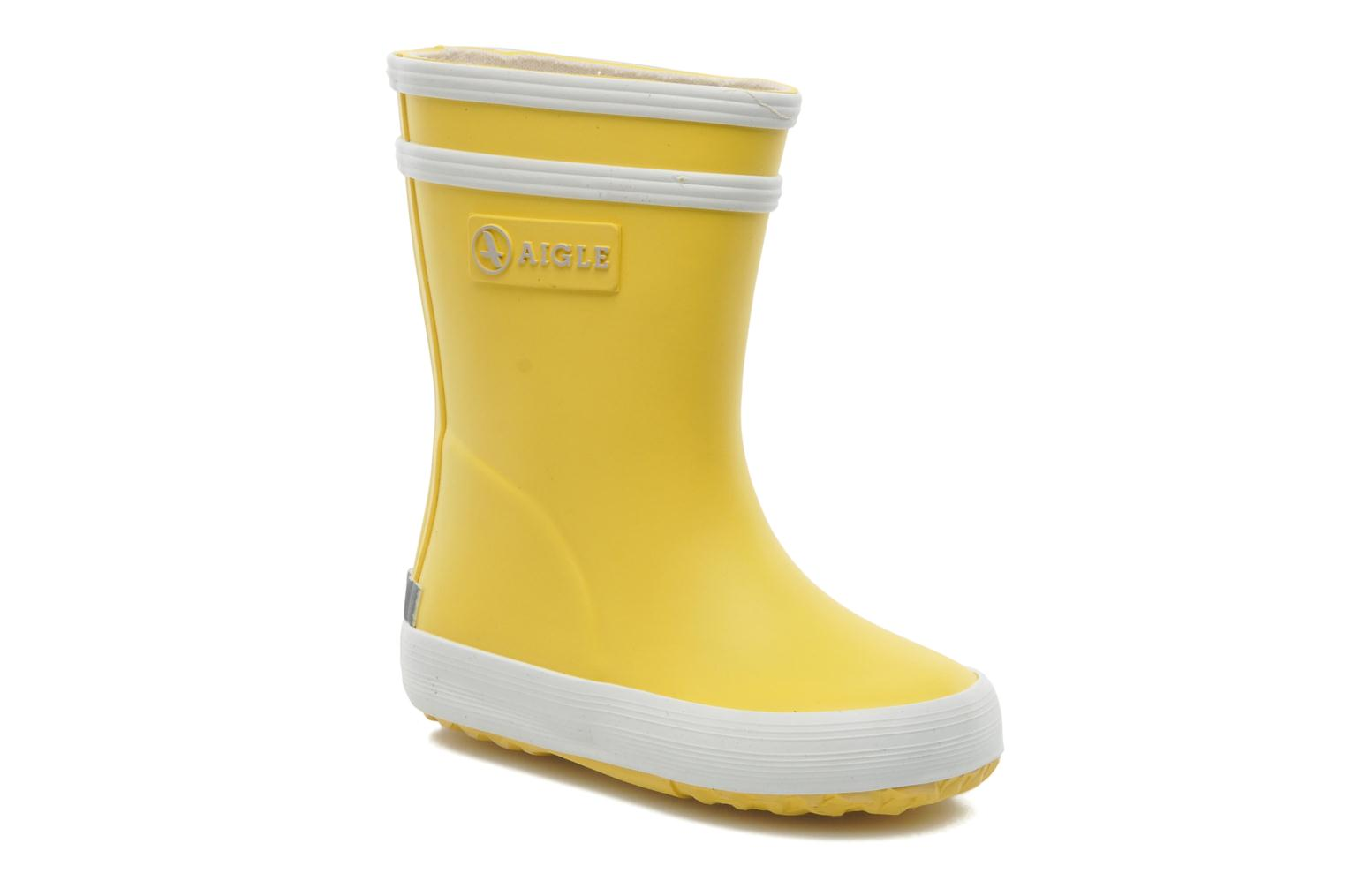 Boots & wellies Aigle Baby Flac Yellow detailed view/ Pair view