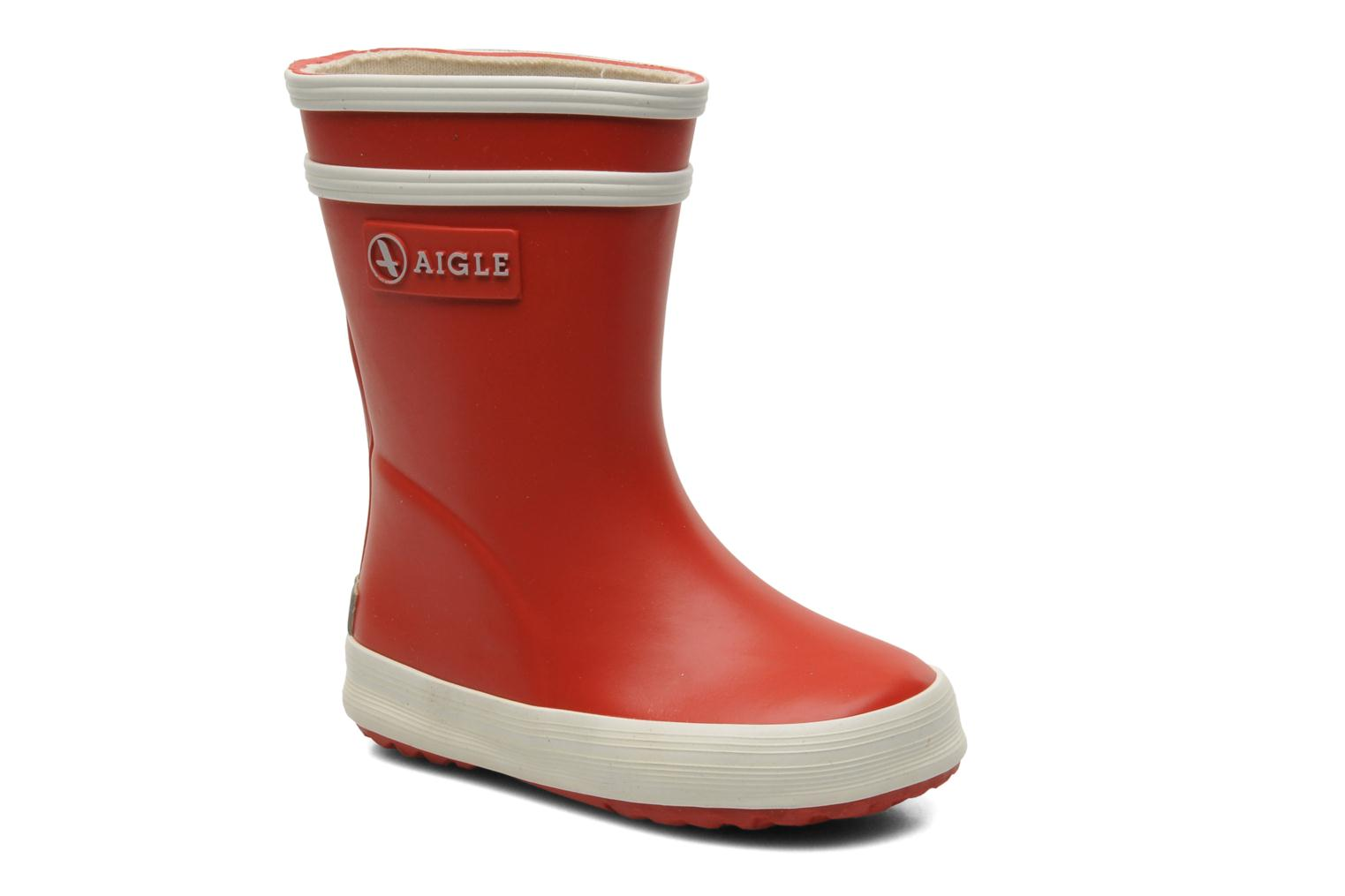 Boots & wellies Aigle Baby Flac Red detailed view/ Pair view