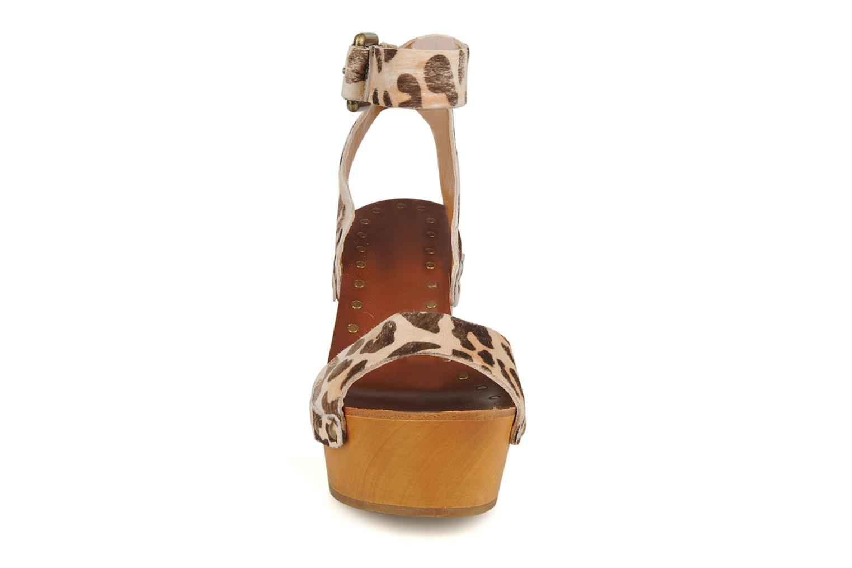 Sandales et nu-pieds Ash Vivian Multicolore vue portées chaussures