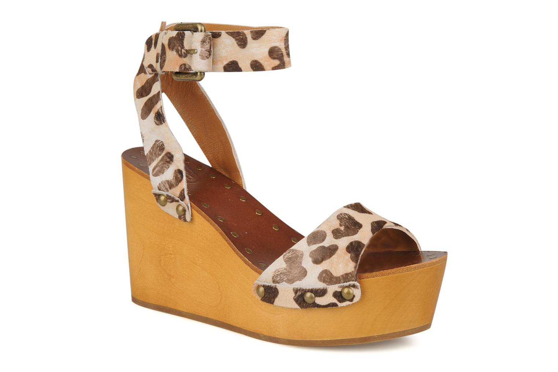 Sandales et nu-pieds Ash Vivian Multicolore vue détail/paire