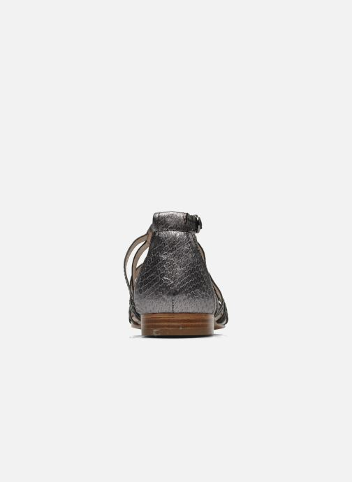Sandali e scarpe aperte House of Harlow 1960 Silver Nero immagine destra
