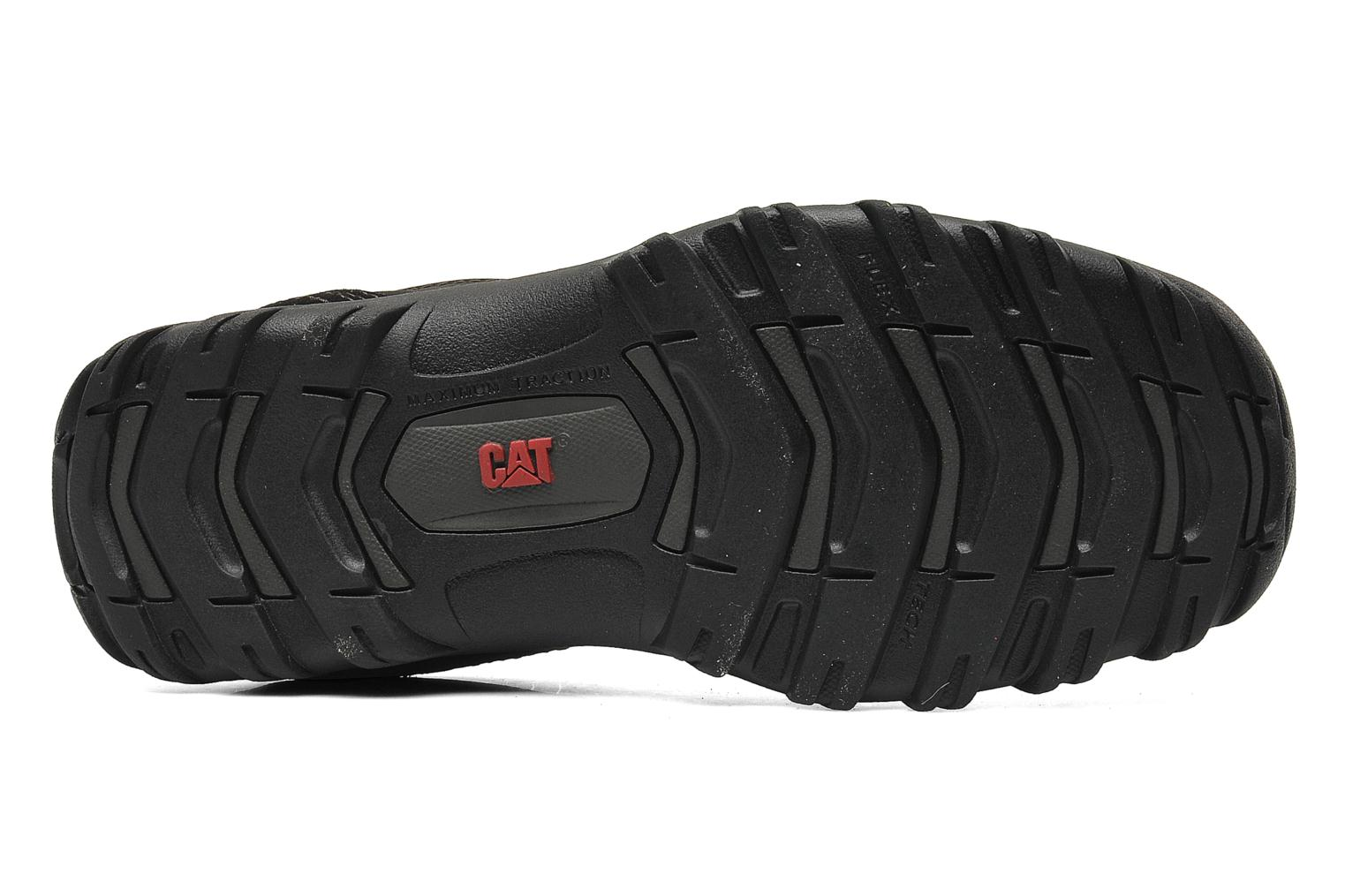 Lace-up shoes Caterpillar Emerge Black view from above