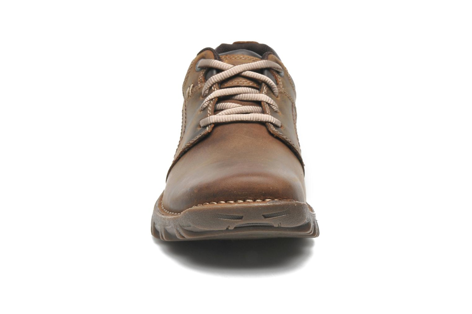 Lace-up shoes Caterpillar Emerge Brown model view