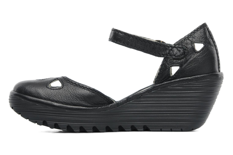 Sandalen Fly London Yuna Zwart voorkant