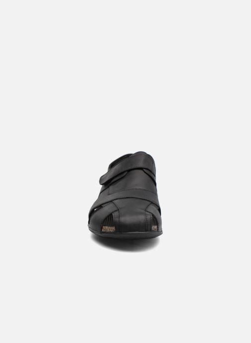 Sandalen Panama Jack Fletcher schwarz schuhe getragen