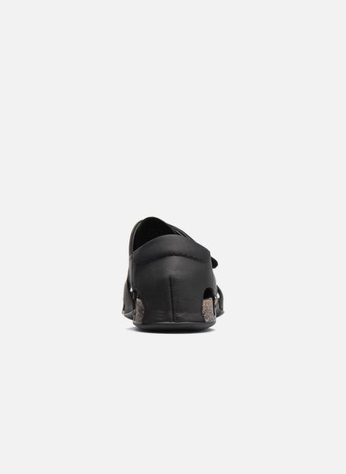 Sandales et nu-pieds Panama Jack Fletcher Noir vue droite