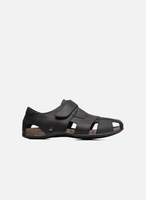 Sandales et nu-pieds Panama Jack Fletcher Noir vue derrière