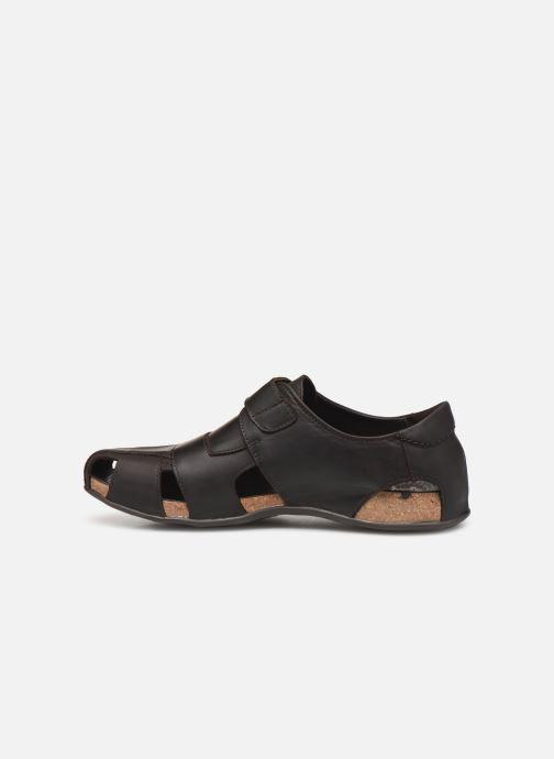 Sandales et nu-pieds Panama Jack Fletcher Marron vue face