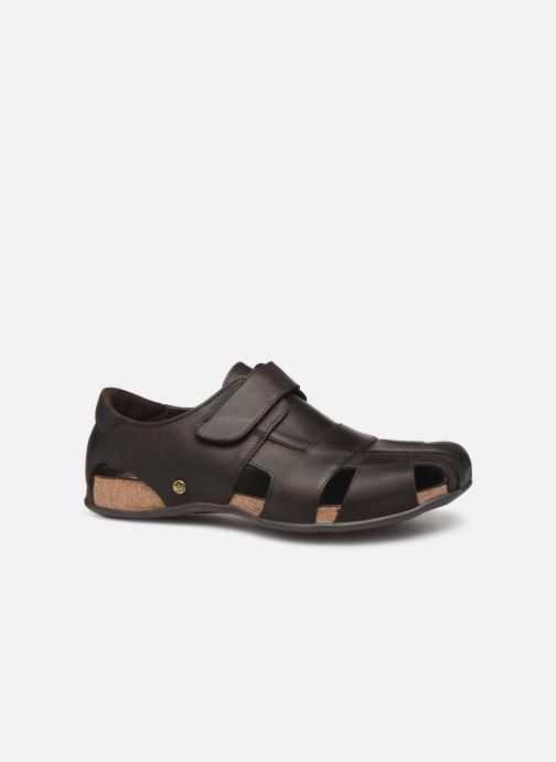 Sandales et nu-pieds Panama Jack Fletcher Marron vue derrière