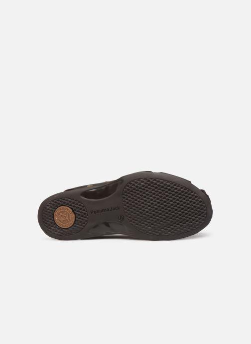 Sandales et nu-pieds Panama Jack Fletcher Marron vue haut