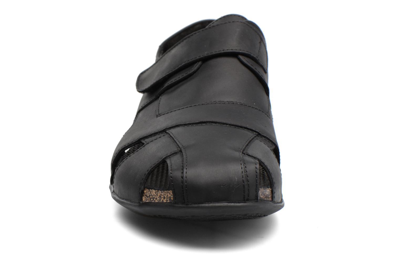 Sandales et nu-pieds Panama Jack Fletcher Noir vue portées chaussures