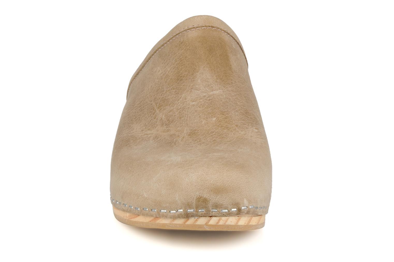 Mules et sabots Acebo's 5594 Beige vue portées chaussures