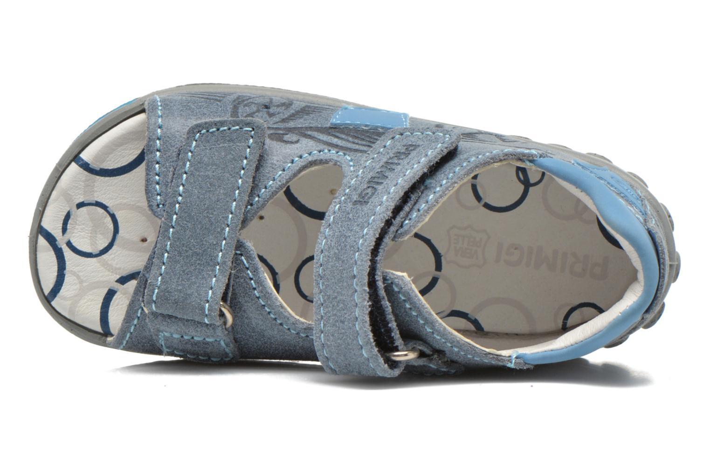 Sandalen Primigi Paolo blau ansicht von links