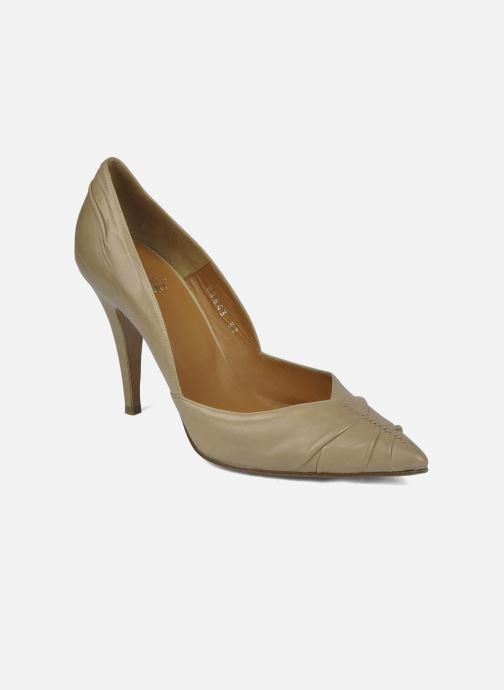 Høje hæle Michel Perry Nemesis Beige detaljeret billede af skoene