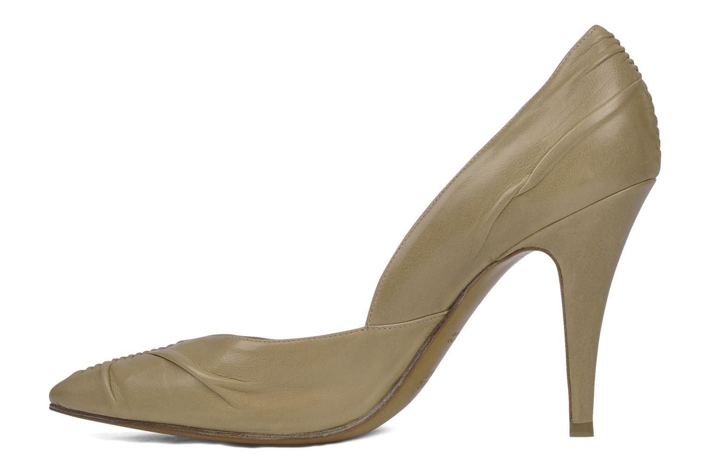 High heels Michel Perry Nemesis Beige front view