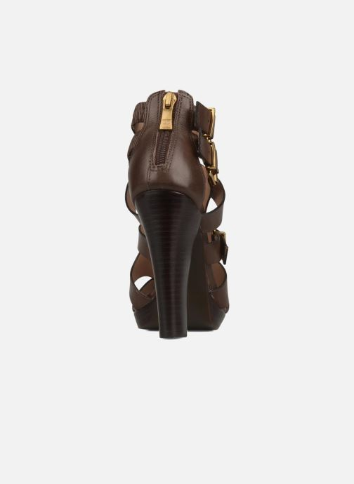 Sandales et nu-pieds Pour La Victoire Vanna Marron vue droite