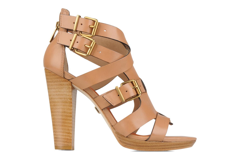 Sandales et nu-pieds Pour La Victoire Vanna Marron vue derrière