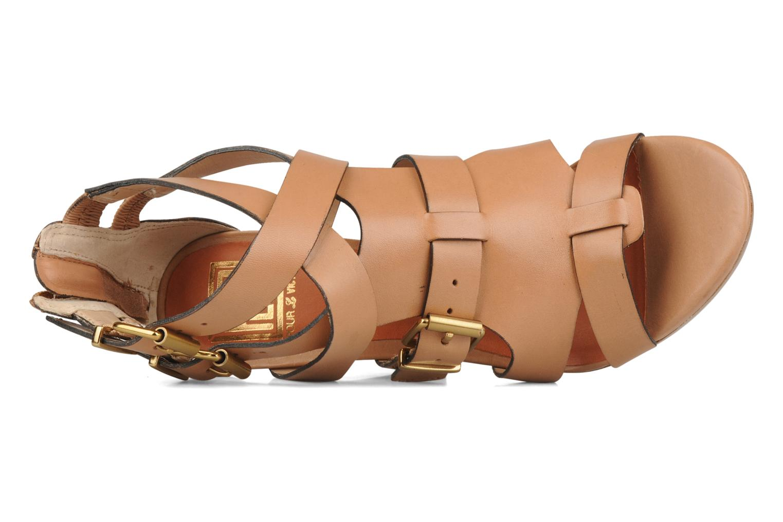 Sandals Pour La Victoire Vanna Brown view from the left