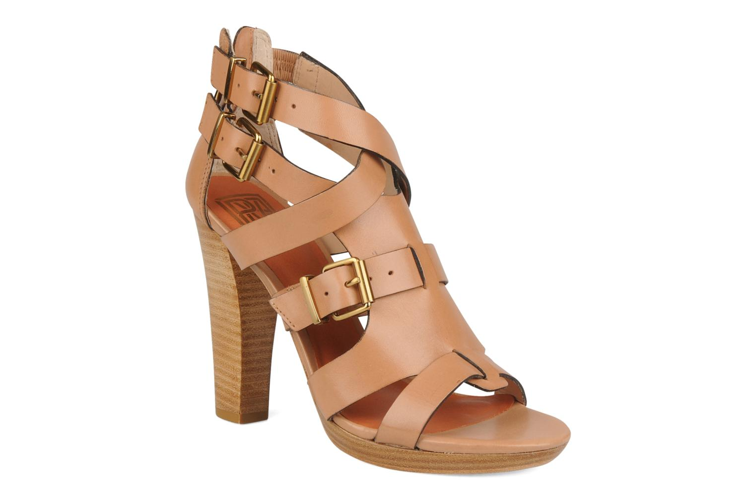 Sandals Pour La Victoire Vanna Brown detailed view/ Pair view
