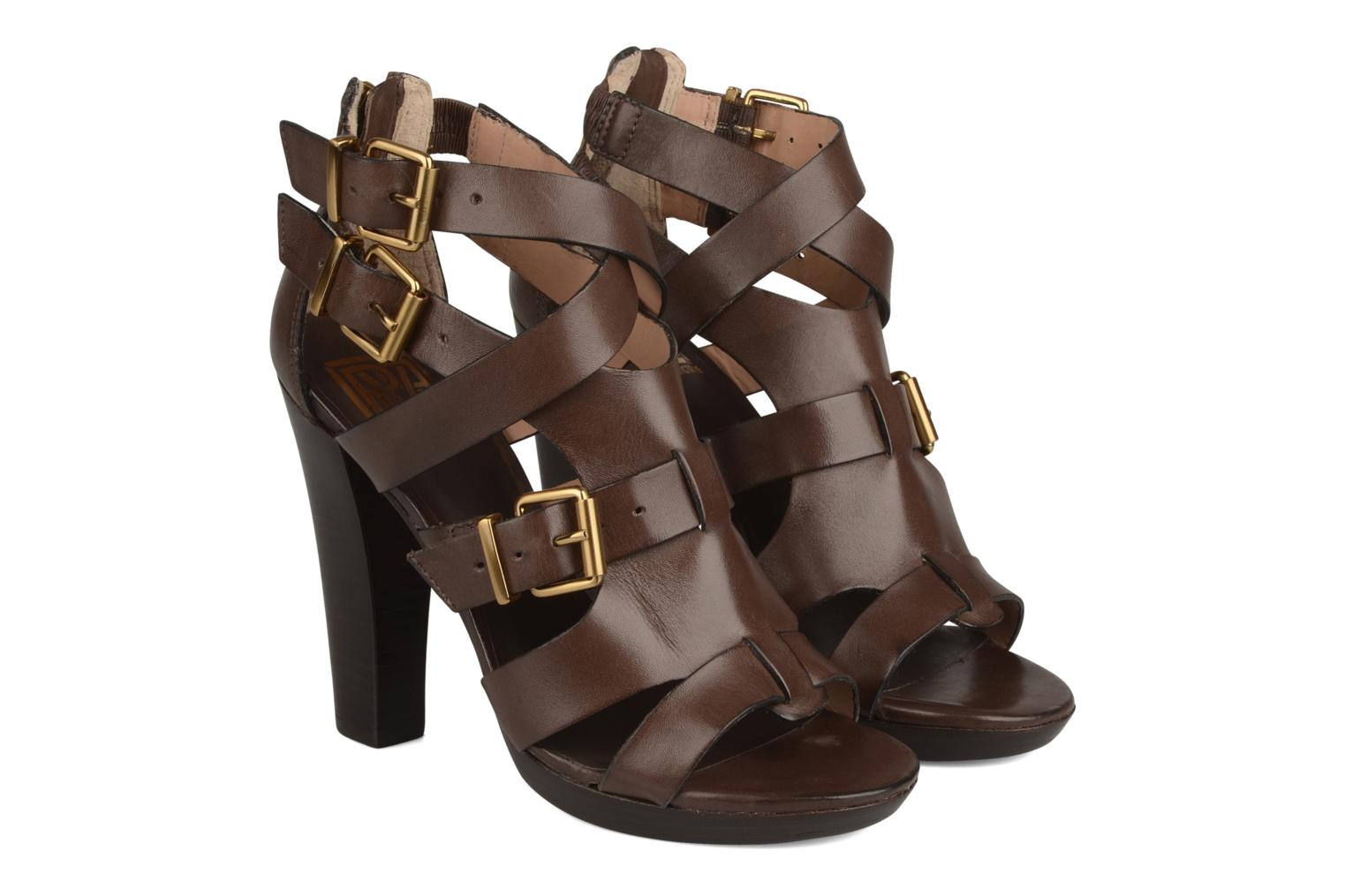 Sandals Pour La Victoire Vanna Brown 3/4 view