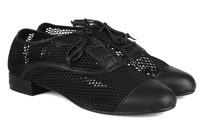 Chaussures à lacets Pour La Victoire Morina Noir vue 3/4