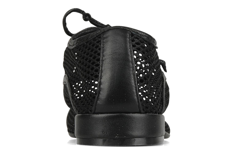 Chaussures à lacets Pour La Victoire Morina Noir vue droite