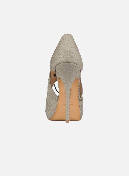 Sandales et nu-pieds Pour La Victoire Rima Gris vue droite